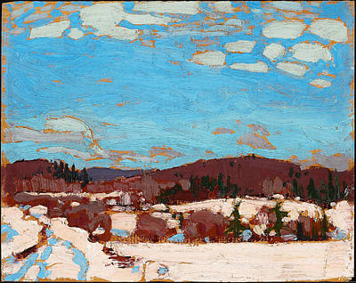 Early Spring Painting - Early Spring by Tom Thomson