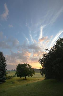 Photograph - Early Summer Sunrise by Bernard Lynch
