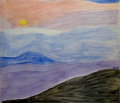 Ravi Painting - Early Sunrise Dream by Sonali Gangane