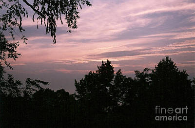 Early Sunrise In Central Illinois Art Print