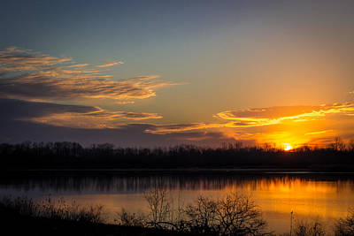 Photograph - Early Sunrise by Larry McMahon