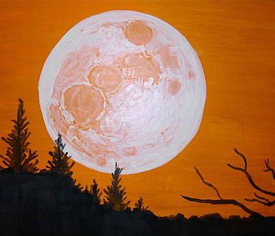 Early Super Moon Original
