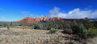 Clous Photograph - Early Winter Pano by Gary Kaylor