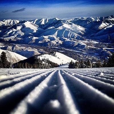 Mountain Photograph - #earlyups #sunvalley by Cody Haskell