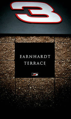 Photograph - Earnhardt Memorial by Karen Scovill