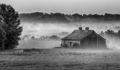 Photograph - Earning Morning In The Mist by Leah Palmer