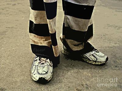 Escapees Photograph - Earning Stripes by Joe Jake Pratt