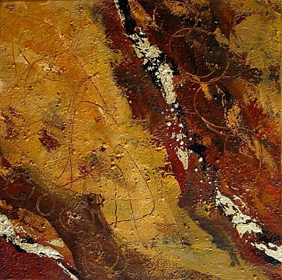 Painting - Earth Abstract One by Lance Headlee