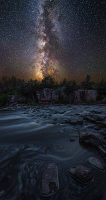 Photograph - Earth And Sky by Aaron J Groen