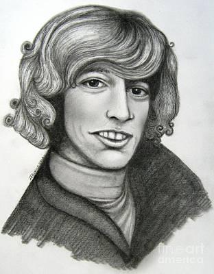 Robin Gibb Art Print