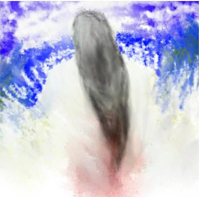 Earth Angel Art Print by Rc Rcd