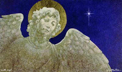 Earth Angel Art Print by Will Bullas