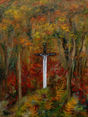 Painting - Earth Blood by FT McKinstry