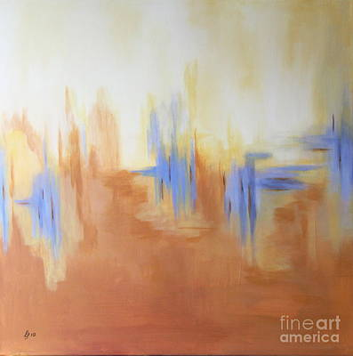 Terra Painting - Earth by Christiane Schulze Art And Photography