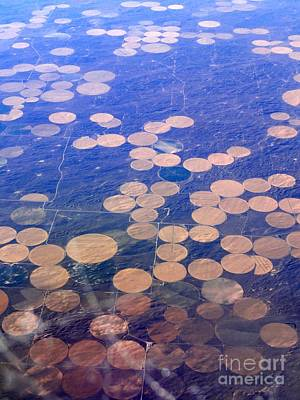 Photograph - Earth Circles by Anthony Wilkening