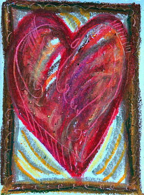 Pastel - Earth Heart by Racquel Morgan
