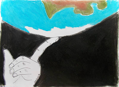 Index Mixed Media - Earth by Keshava Shukla