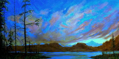 Painting - Earth Light Series Sky Light by Len Sodenkamp