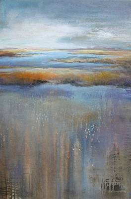 Tonal Painting - Earth Meets Sky by Karen Hale
