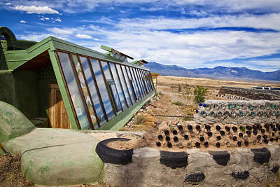 Photograph - Earth Ship Taos South by Shanna Gillette