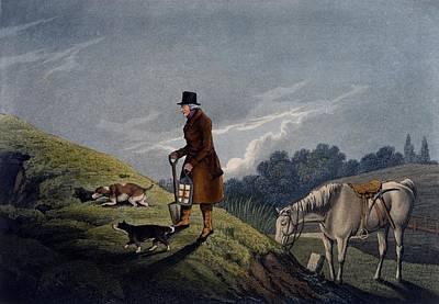 Earth Stopper, 1820 Art Print by Henry Thomas Alken