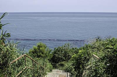 Italian Landscape Photograph - Italian Landscapes - A Path To The Sea by Andrea Mazzocchetti