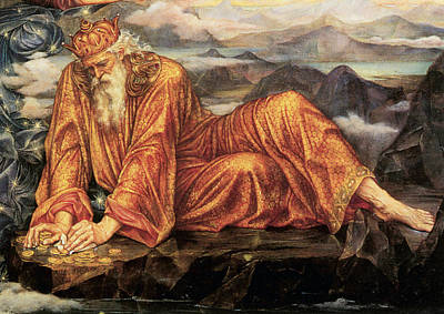 Old Man Digital Art - Earthbound Detail by Evelyn de Morgan