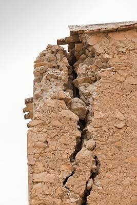 Earthquake Photograph - Earthquake Damage In Lorca by Ashley Cooper