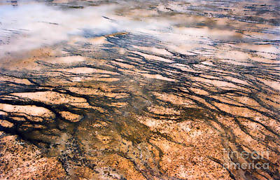 Yellowstone Digital Art - Earth's Monet - 3 by Linda  Parker