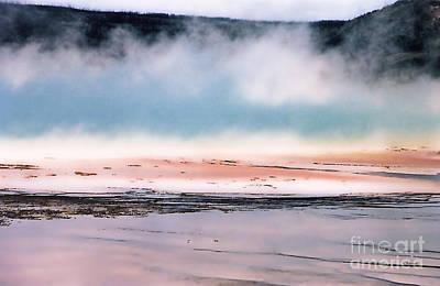 Yellowstone Digital Art - Earth's Monet - 6 by Linda  Parker