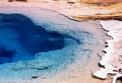 Yellowstone Digital Art - Earth's Monet - 7 by Linda  Parker