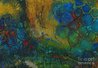 Mixed Media - Earthscape by Angela L Walker
