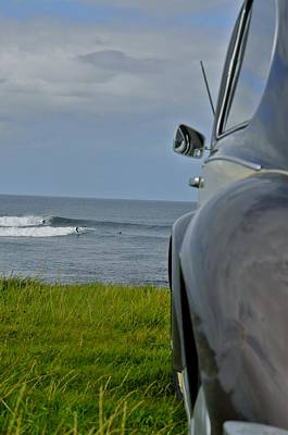 Donegal Photograph - Easkey Left by Keith Harkin