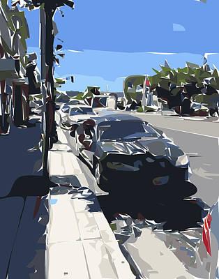 Bay Area Digital Art - East 4th By Nolan Schoichet by Nolan Schoichet