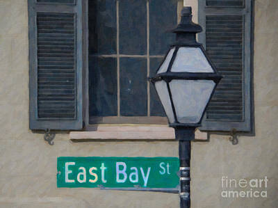 Digital Art - East Bay Street by Dale Powell