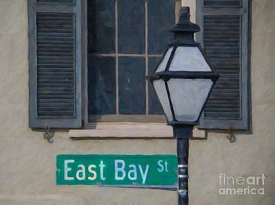 East Bay Street Art Print by Dale Powell