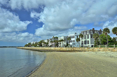 Photograph - East Bay Waterfront - Charleston by Allen Beatty