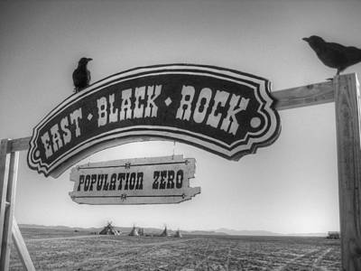 Black Rock City Photograph - East Black Rock by Jane Linders
