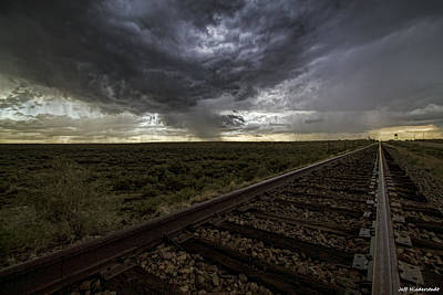 Photograph - East Bound by Jeff Niederstadt