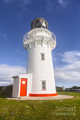 Photograph - East Cape Lighthouse New Zealand by Colin and Linda McKie