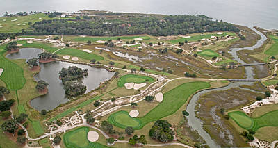 Topography Photograph - East Coast Georgia Golf Course by Betsy Knapp