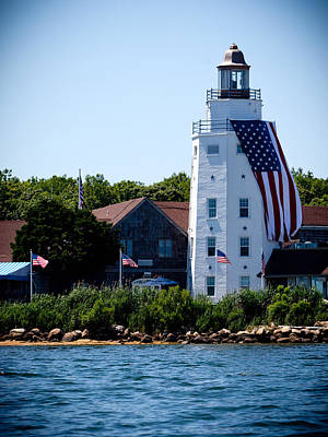 Eastcoast Lighthouses Photograph - East Coast Lightouse by Art Block Collections