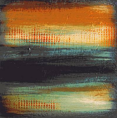 Abstract Digital Art - East Coast by Liz Moran