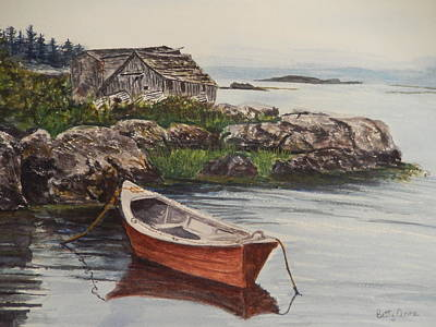 Painting - East Coast Scene by Betty-Anne McDonald