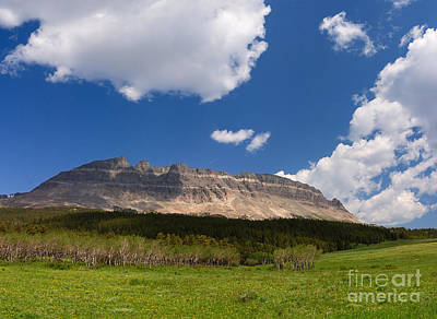 Photograph - East Flattop Mountain At The Saint Mary Entrance by Charles Kozierok