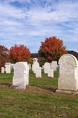 Photograph - East Franklin Cemetery by R B Harper