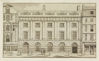 East India Photograph - East India House In The City Of London by British Library