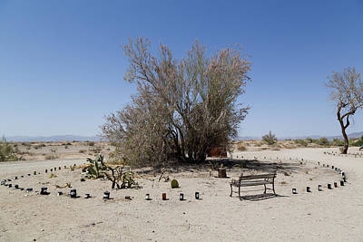 Photograph - East Jesus Artist Community In Slab City by Carol M Highsmith