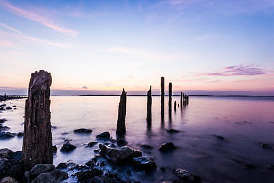 Sheppey Photograph - East Kent Sunset by Ian Hufton