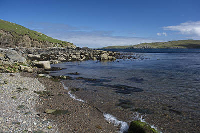 Photograph - East Lunna Voe by Steve Watson